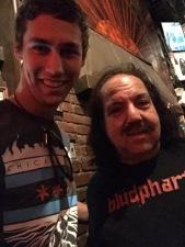 w/Ron Jeremy